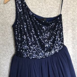 ASOS Dresses - ASOS navy sequin party dress 👗